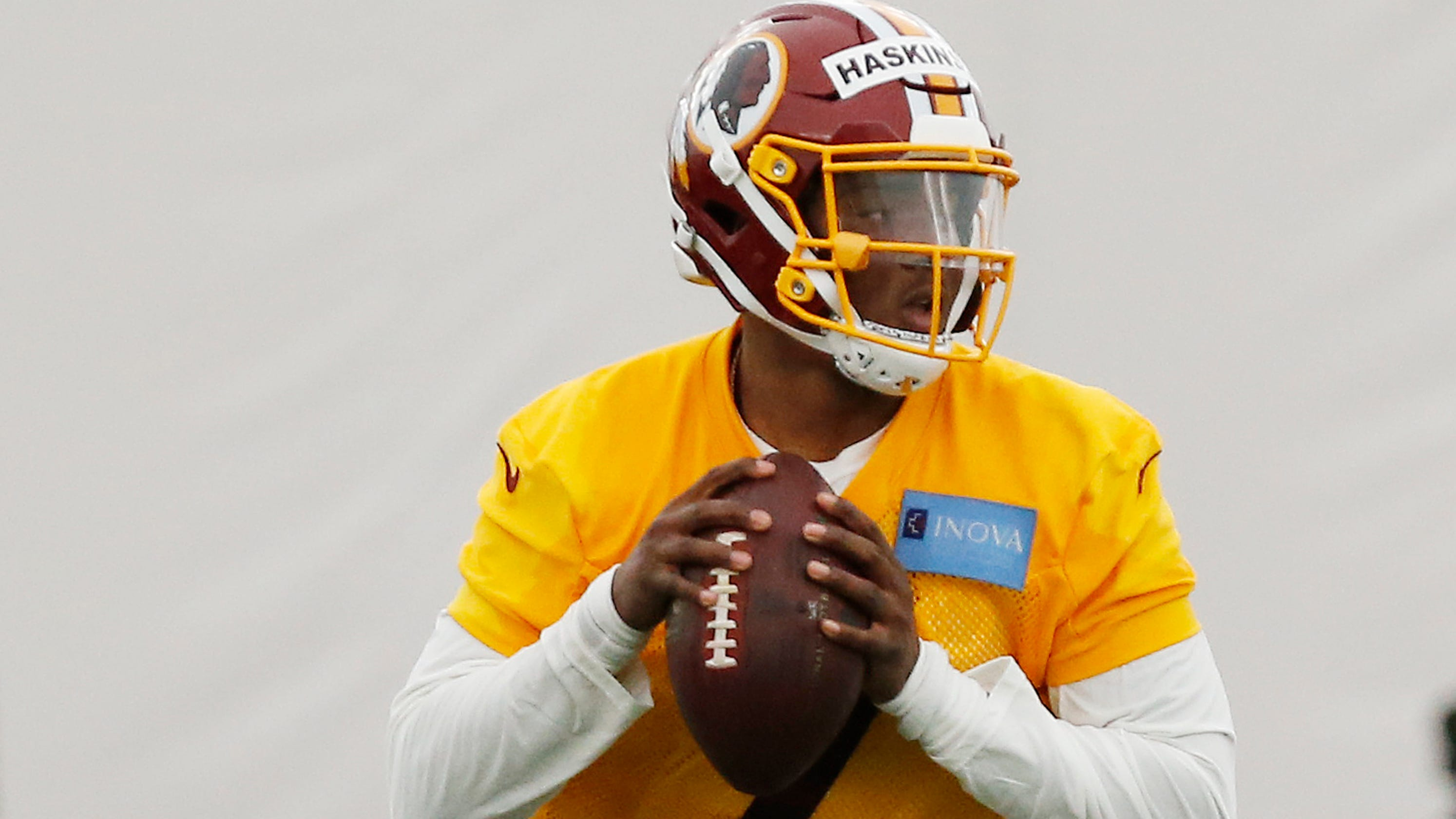 72f4286d3 NFL  Redskins QB Dwayne Haskins seems to be plotting right course