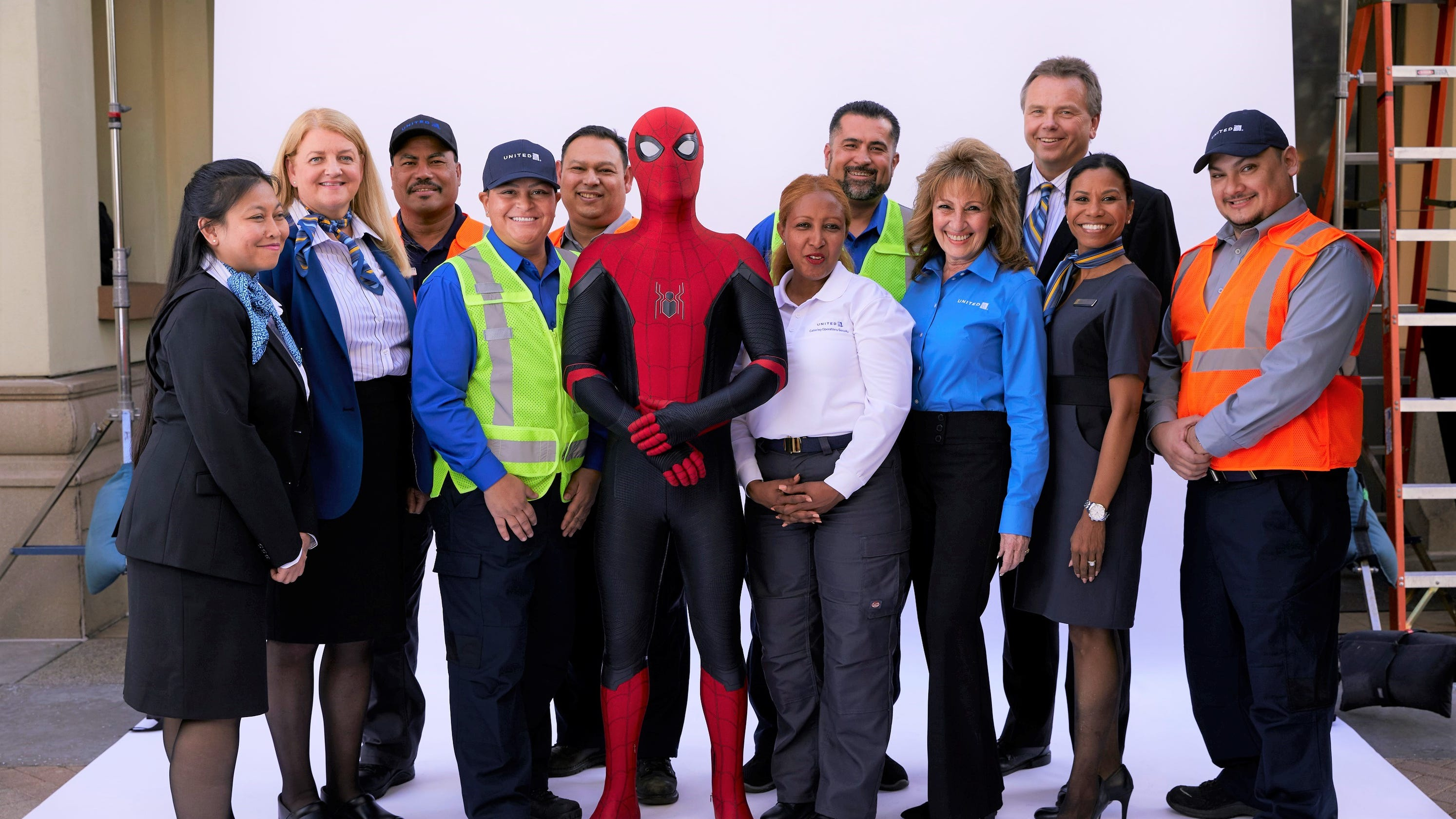 Spider-Man stars in United Airlines' new safety video
