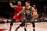 SportsPulse: USA TODAY Sports' Josh Peter breaks down the Western Conference finals matchup between the Warriors and Blazers that features a pair of dynamic backcourts.