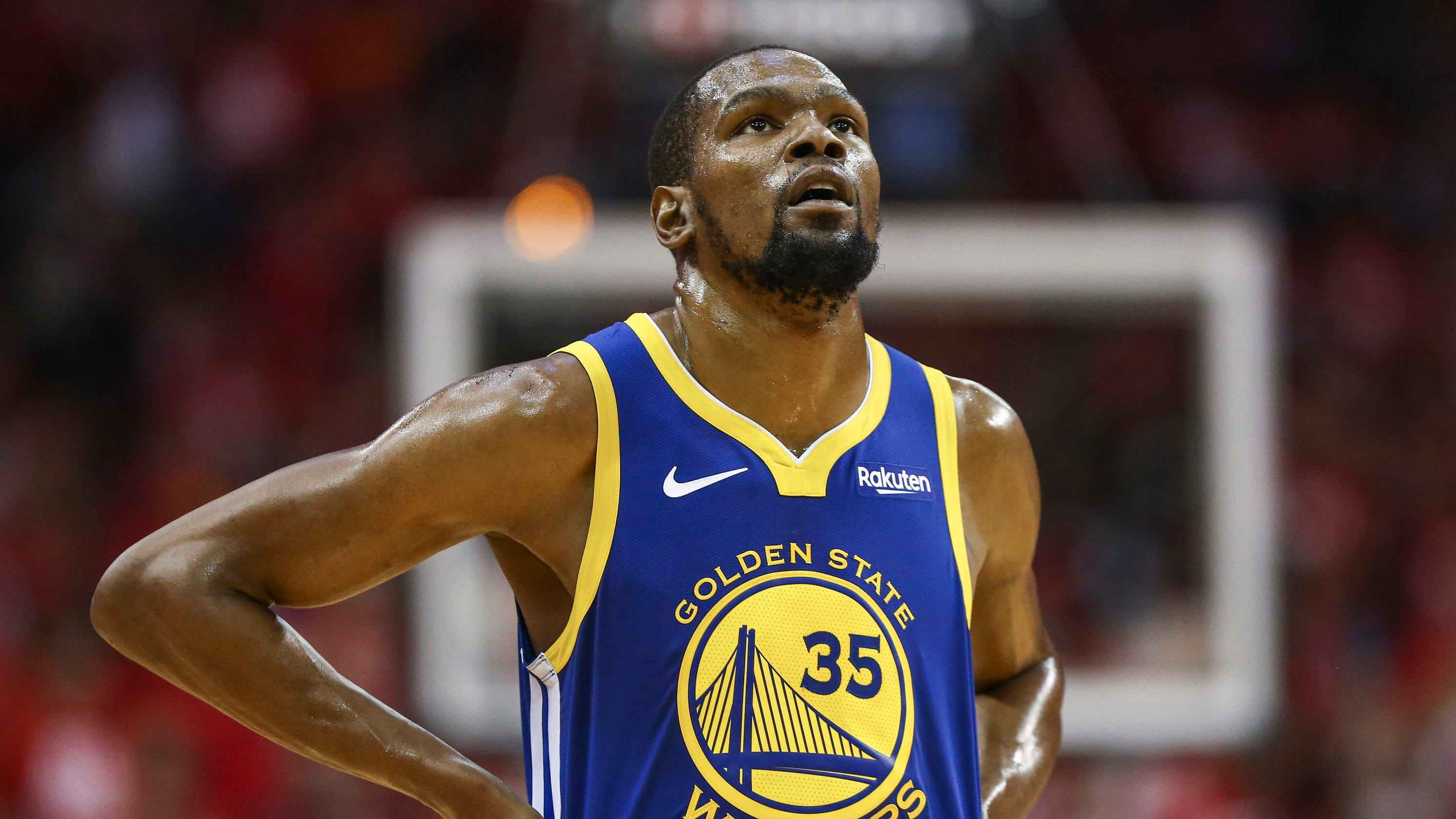 9e122ec3754 NBA Playoffs  Kevin Durant to miss Game 1 with calf injury