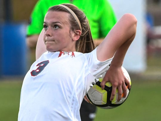 Maggie Macgruder of Palmetto HS soccer
