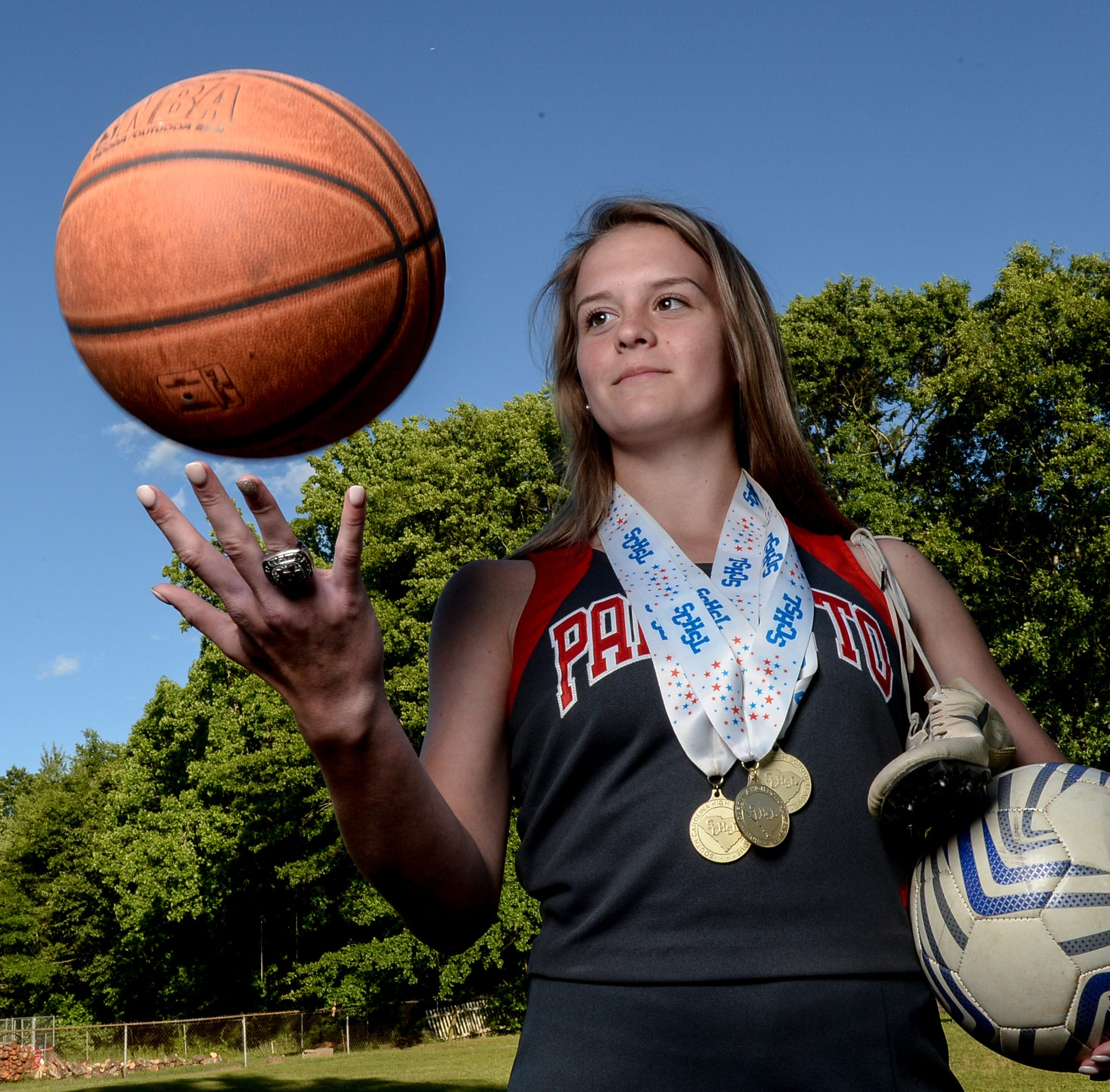 Palmetto High four-sport athlete Maggie Magruder up for challenge following surgery