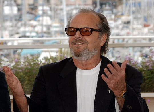 Actor Jack Nicholson is shown in this May 22, 2002 file photo.