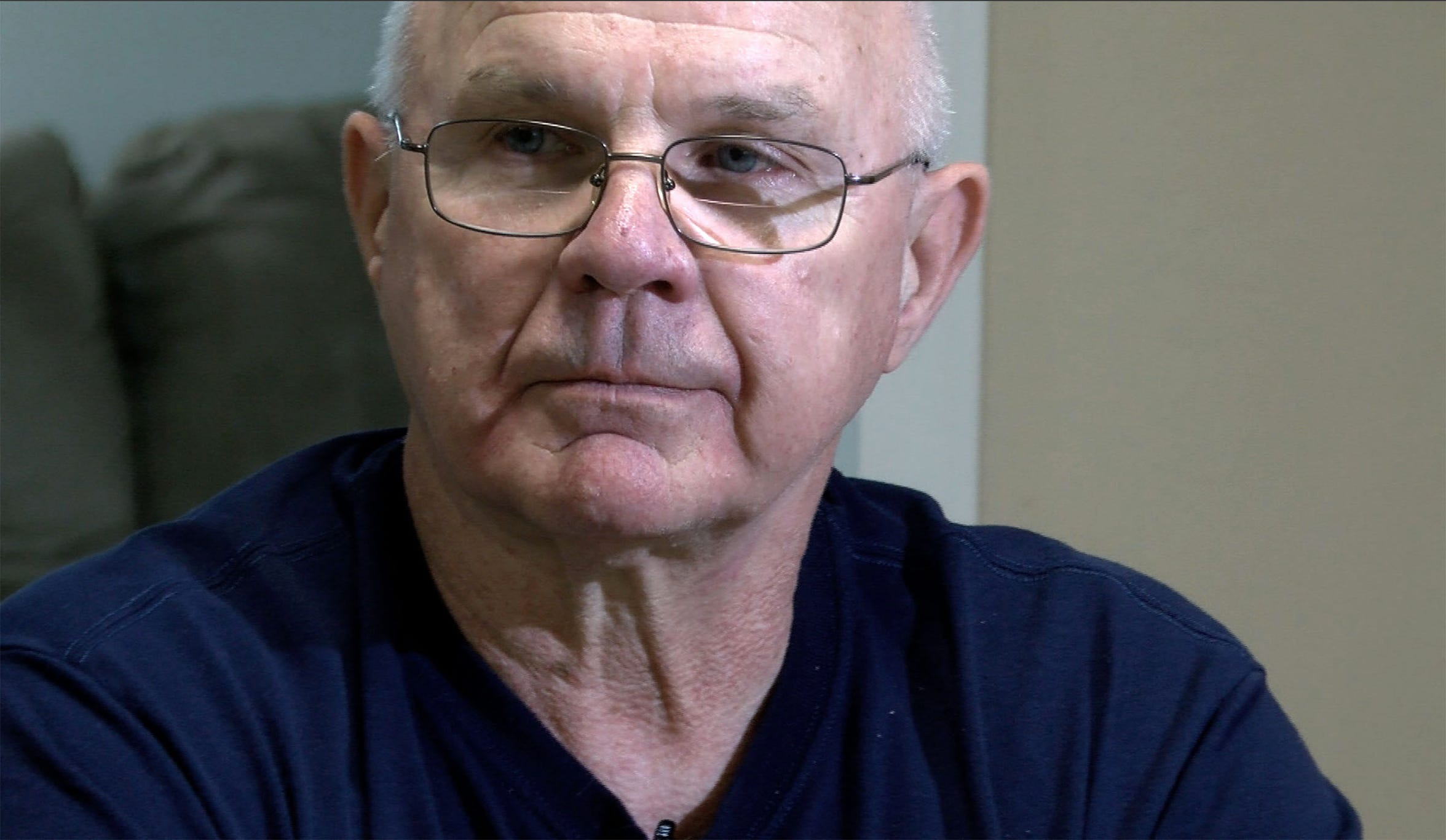 Paul Berkowicz, a former school principal and retired science teacher, is shown during an interview at his Lacey Township home. He's very concerned about the remaining nuclear waste at Oyster Creek and what it will mean for future generations.
