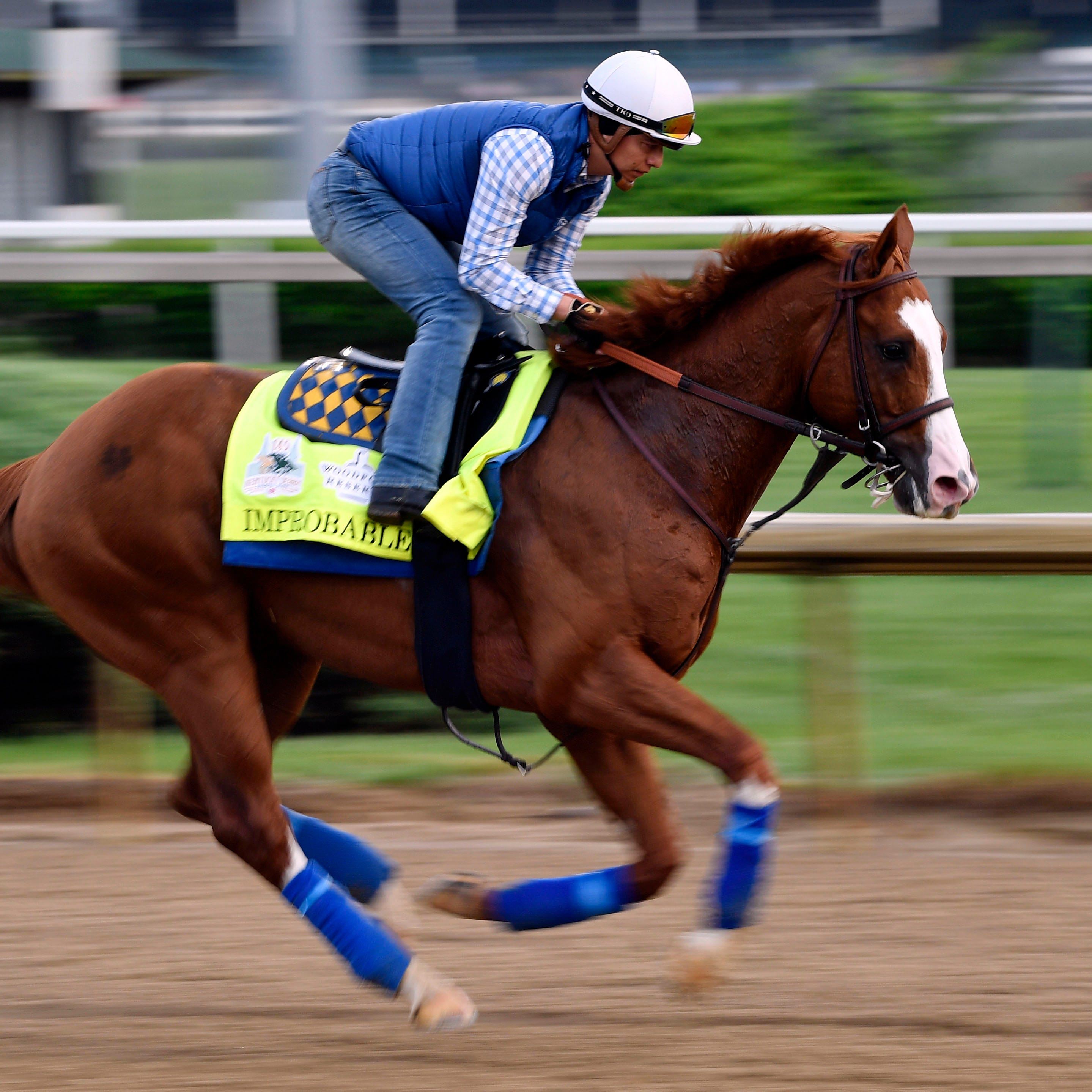 2019 Preakness: Post postions, odds, with Improbable the favorite