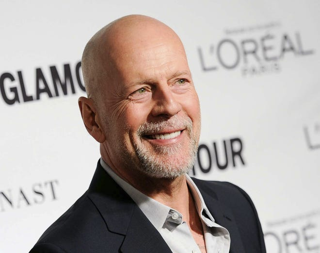In this Nov. 10, 2014 file photo, Bruce Willis attends the 2014 Glamour Women of the Year Awards at Carnegie Hall in New York.