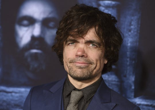 "In this April 10, 2016 file photo, actor Peter Dinklage attends the season six premiere of ""Game Of Thrones"" in Los Angeles."