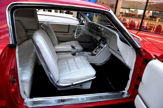 Interior of a 1965 Ford Thunderbird