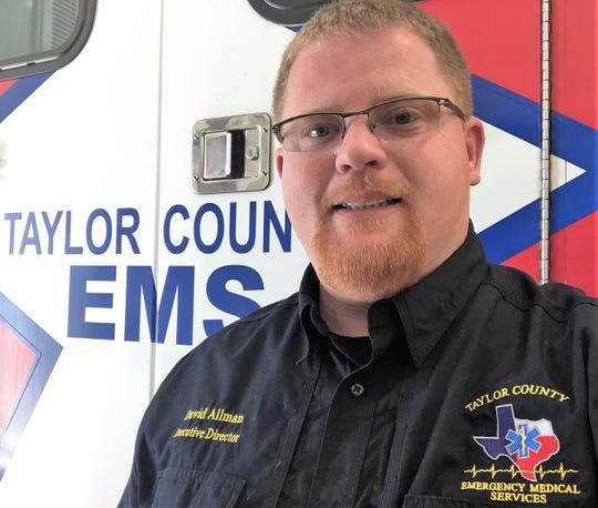 David Allman, executive director, Taylor County Emergency Medical Services.