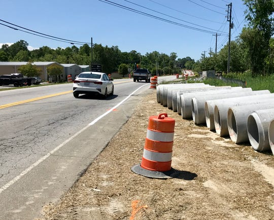 The NCDOT is widening a section of Old Airport Road in the Arden/Fletcher area from Hendersonville Road to Cane Creek Road.