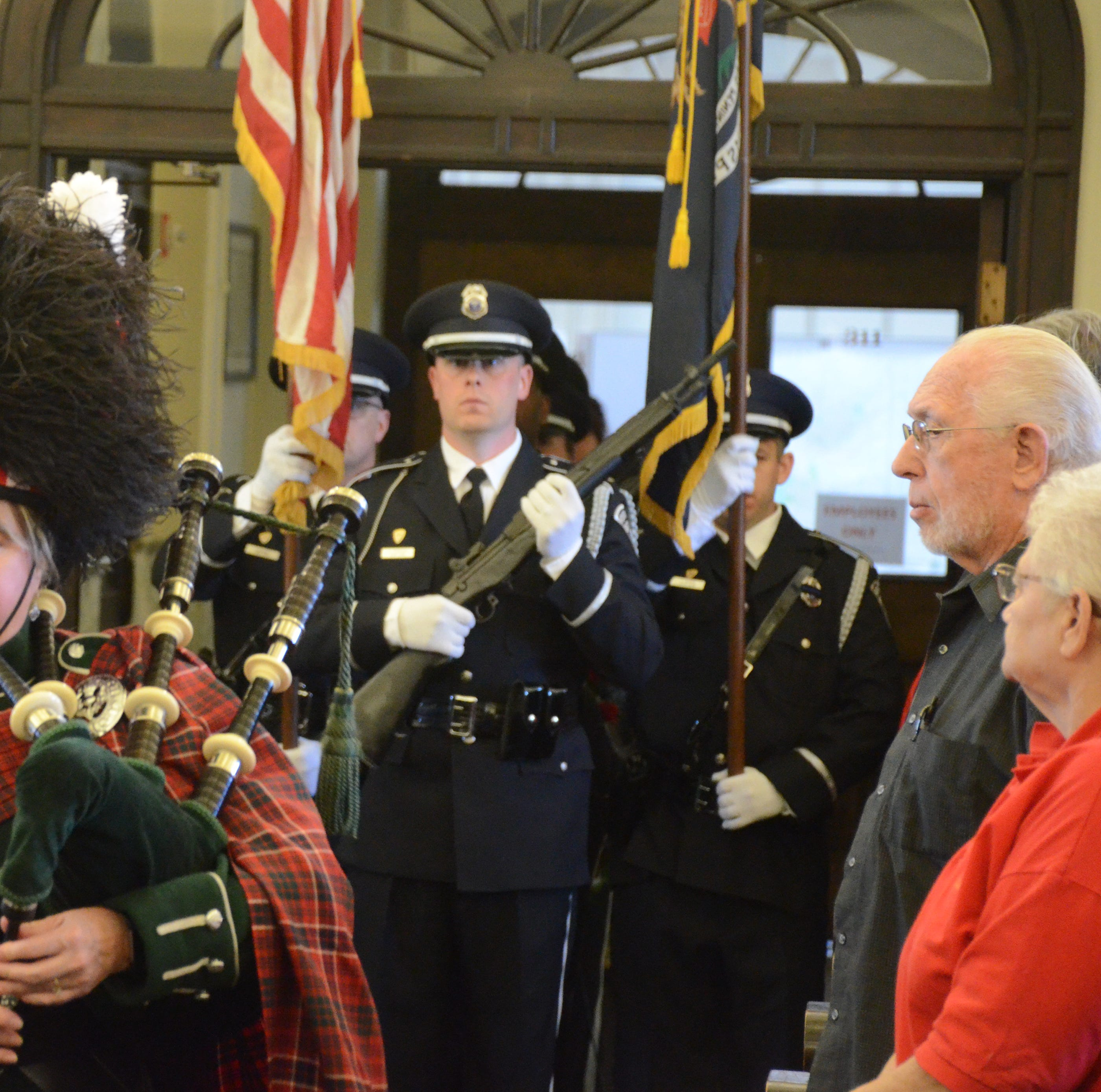 Battle Creek police honor the fallen, award Jeff Case Officer of the Year