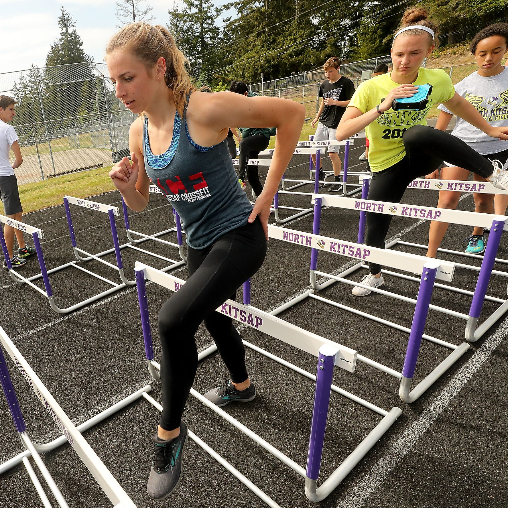 North Kitsap's Alyssa Cullen is discovering her speed