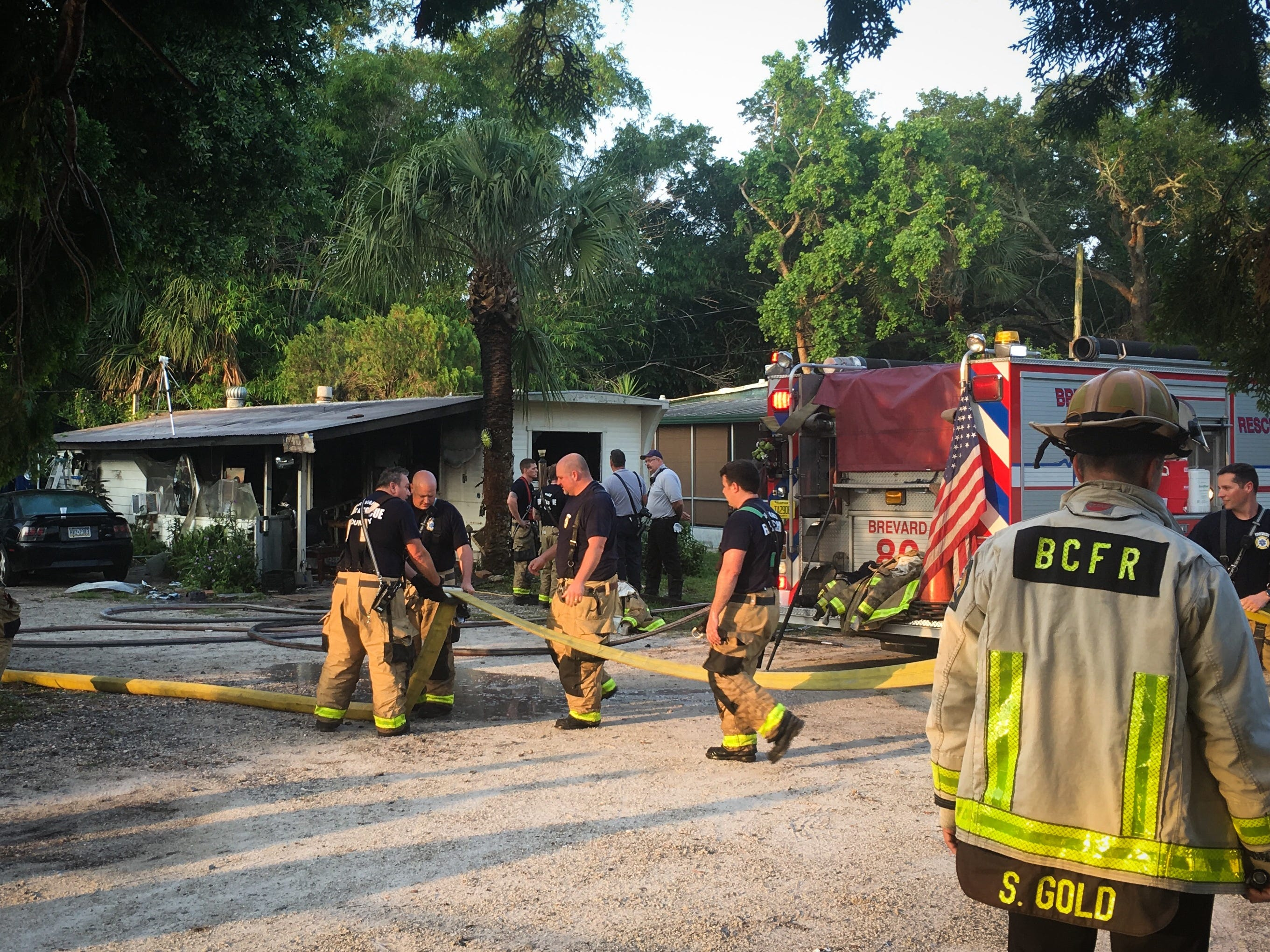 A fire was reported about 6:30 a.m. in a manufactured home in the 6300 block of U.S. 1 May 14, 2019.