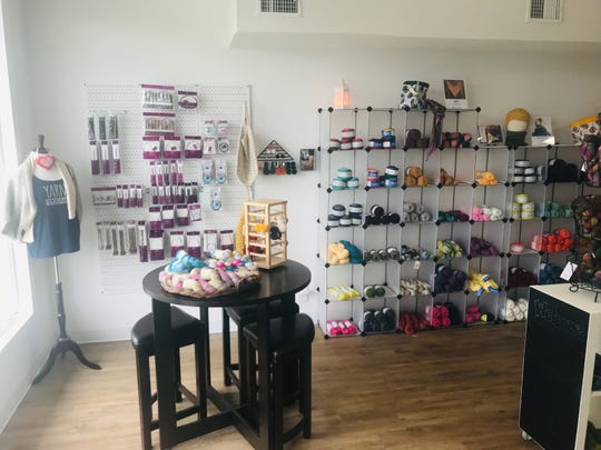 Yarn Texas opened in February and sells anything needed to create with yarn.