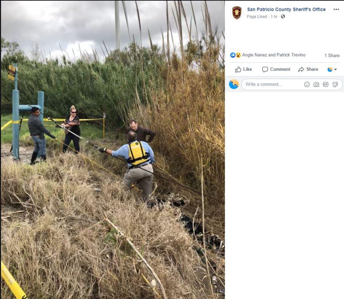 San Patricio County Sheriff's Office IDs man found dead in creek