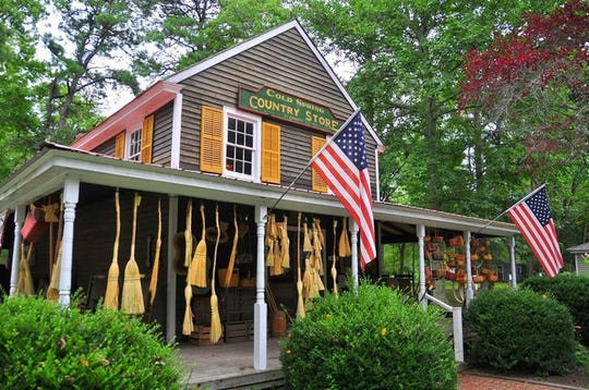 Country Store at Historic Cold Spring Village, a 19th century open-air complex opening to visitors in June in Cape May