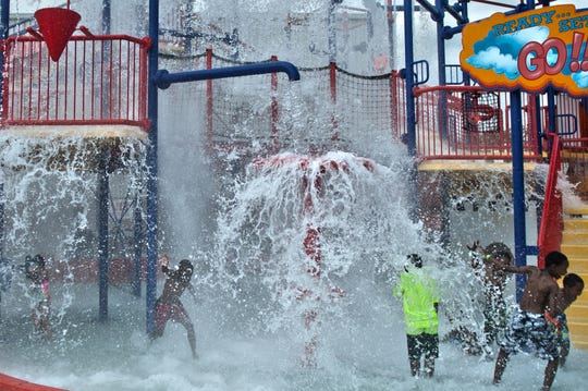 The Splashplex water park within Funplex in Mount Laurel is a popular summer draw.