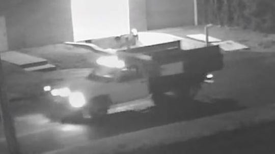 Verizon released a photo of this truck in connection with the search for information on a vandal cutting the network's cords.