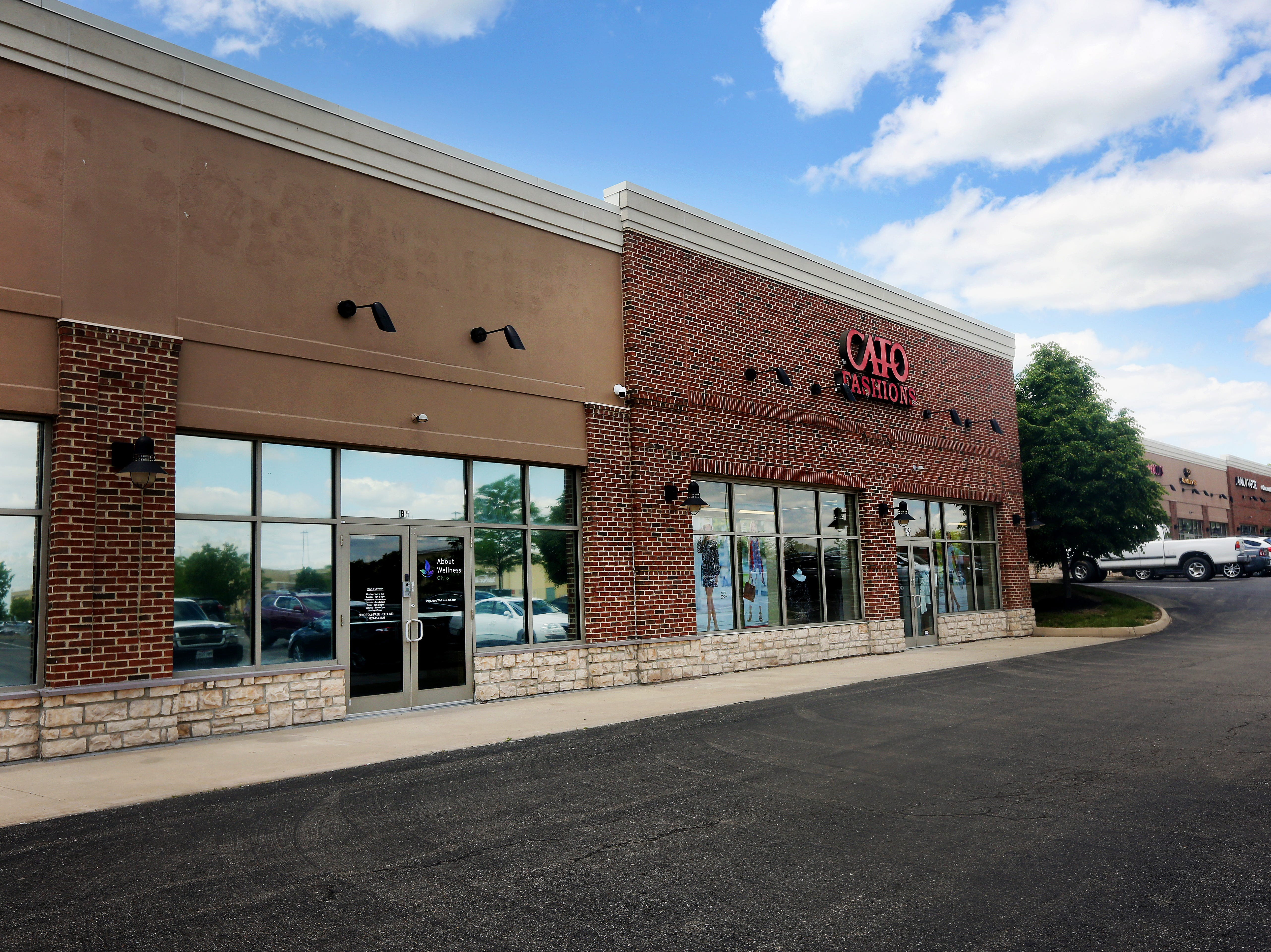 The About Wellness Ohio dispensary is in a small strip center along Genntown Drive, in Lebanon, Ohio. The dispensary will be the first of seven dispensaries within a 60-mile radius of Cincinnati to open its doors.