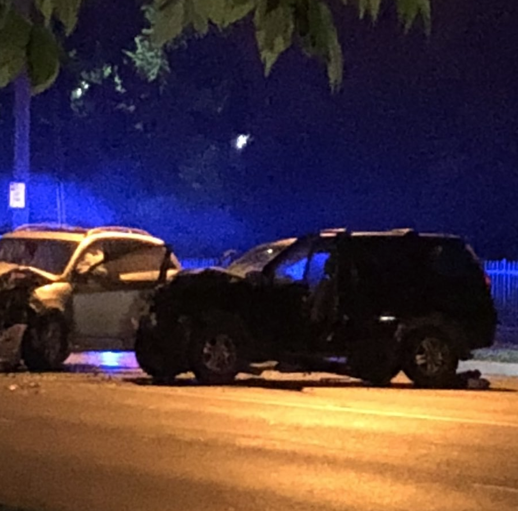 Police suspect impairment in head-on crash with serious injuries on Spring Grove Ave.