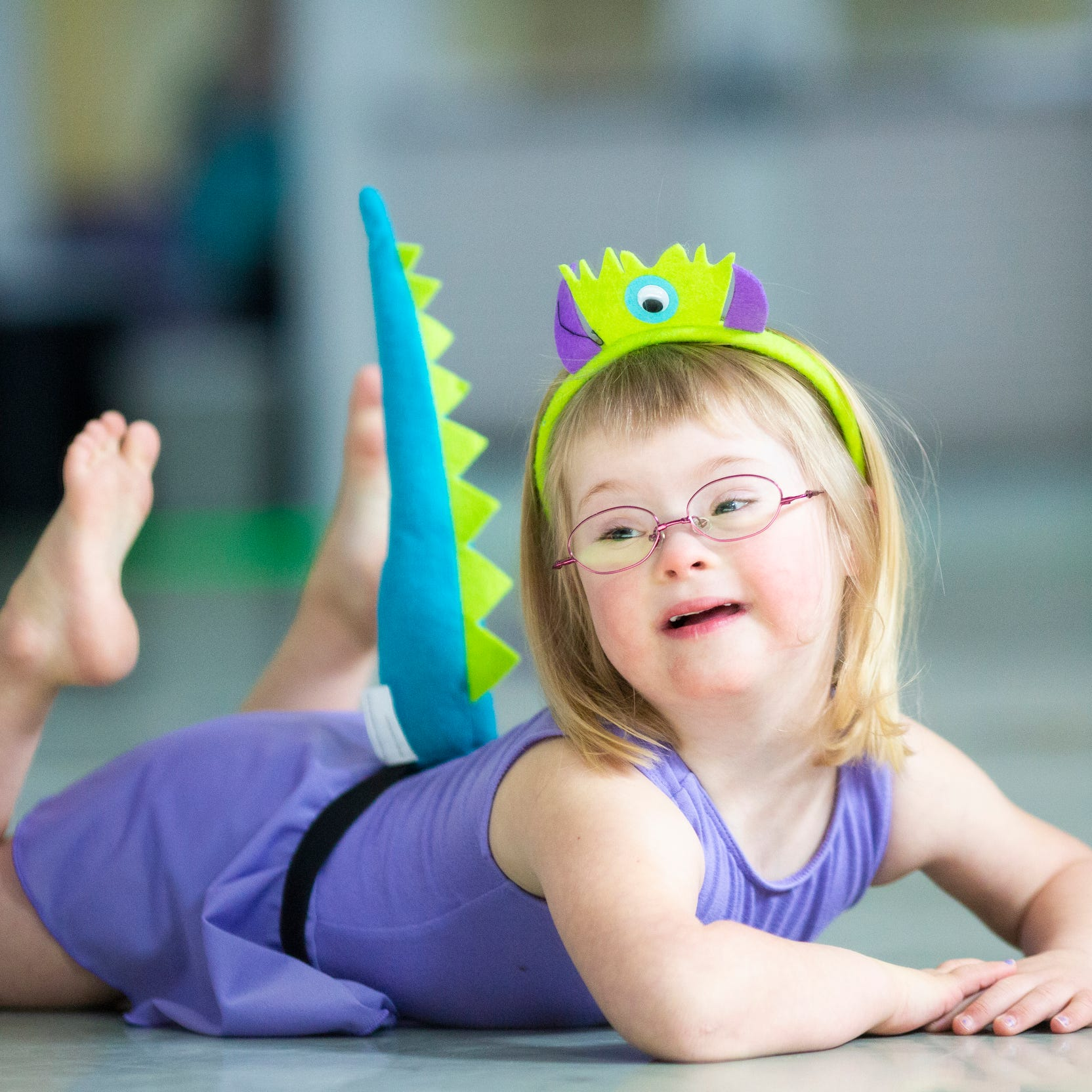 This ballet class is for children with disabilities. But it's really just about dancing