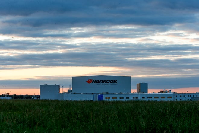 Hankook Tire is a key anchor along the southern portion of the Clarksville-Montgomery County Corporate Business Park.
