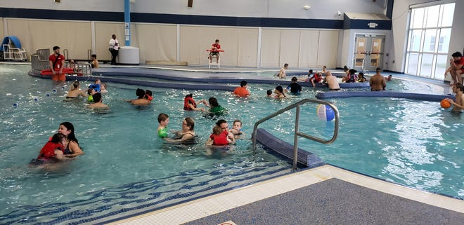 The seventh-annual Autism Awareness Swim & Play, held May 4 at the Educational Services Commission of New Jersey's Aquatics & Fitness Center,  in the Parlin section of Sayreville, raised more than $11,300 for the cause and donations are still coming in.