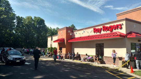 The former Roy Rogers in Edison.