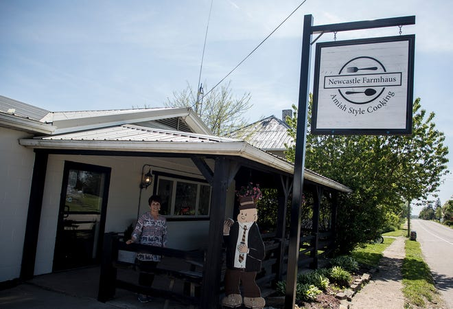 Emma Keene and Heidi Miller opened New Castle Farmhaus where Peggy Sue's used to be in New Castle. The restaurant feature the same pies sold at Peggy Sue's as well as a variety of amish style dishes and pastries.