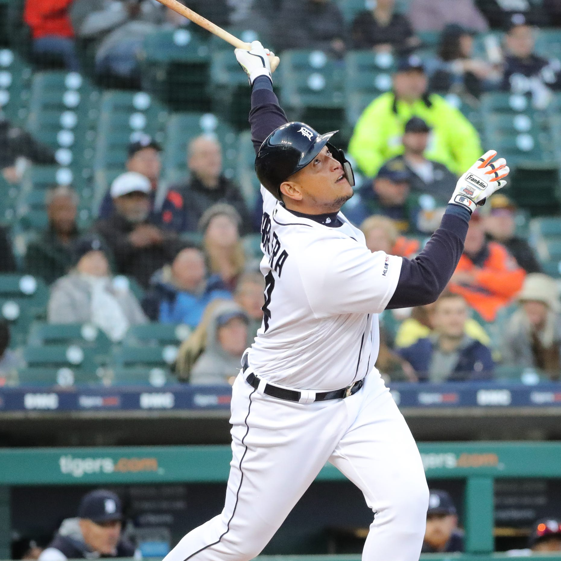 Detroit Tigers' Miguel Cabrera (knee) to miss facing Justin Verlander again