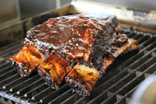A B 's Amazing Ribs serves incredible Texas BBQ that's also halal