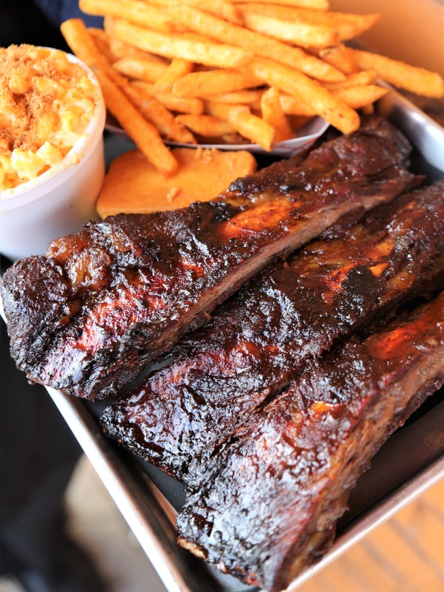 A B 's Amazing Ribs serves incredible Texas BBQ that's also