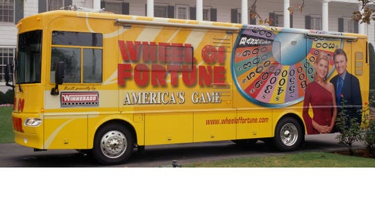 """The Wheelmobile heads to Detroit this weekend in search of future """"Wheel of Fortune"""" contestants."""