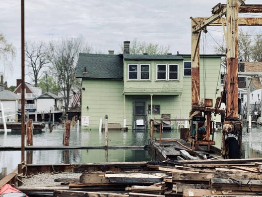 High water levels foreshadow huge cost of climate change in Michigan
