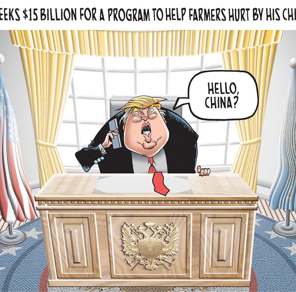 Trump's China tariffs  backfire on US farmers