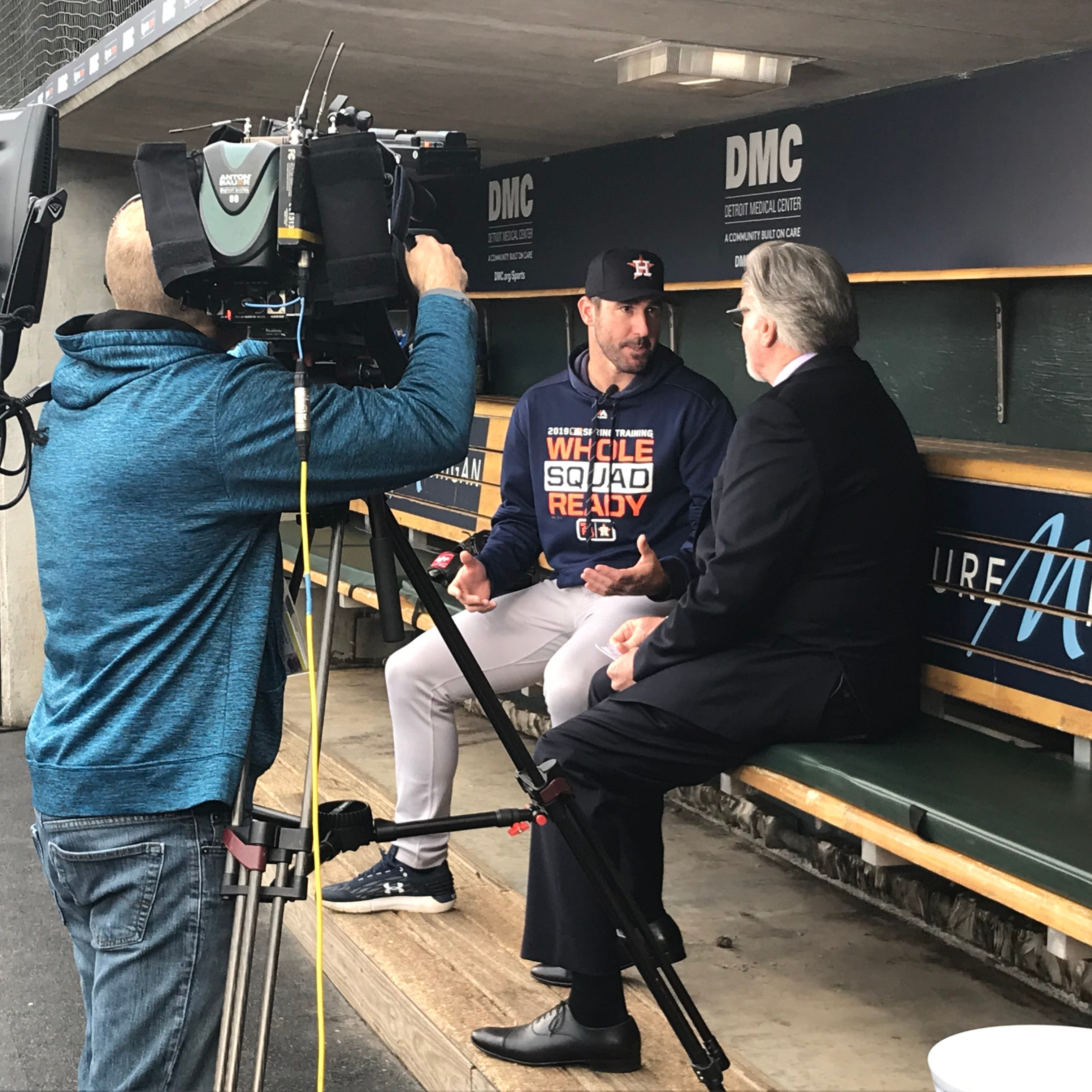 Justin Verlander on why the Tigers didn't win a World Series, current state of Detroit sports
