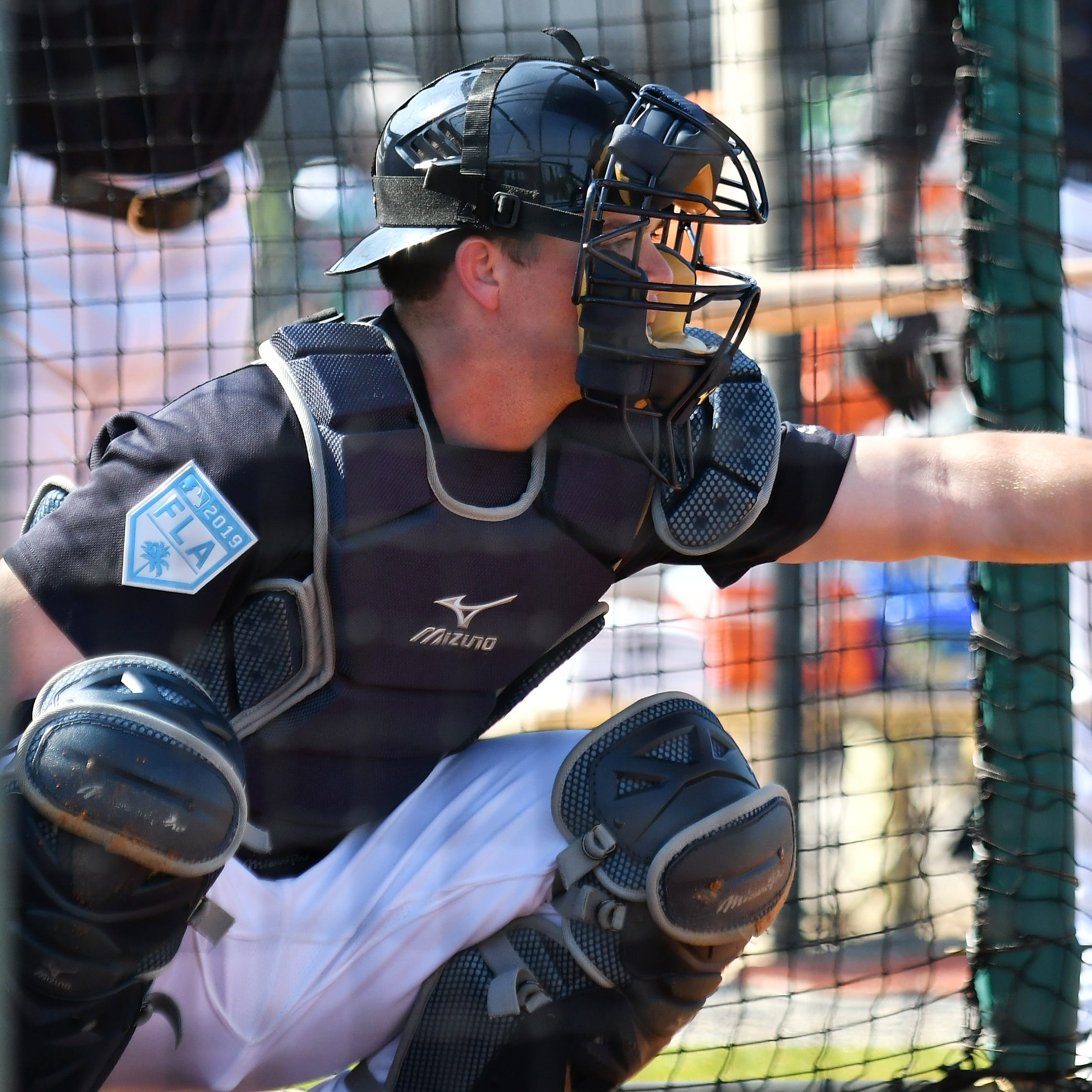 'Climbing that ladder': Tigers' top catching prospect Jake Rogers heads to Toledo