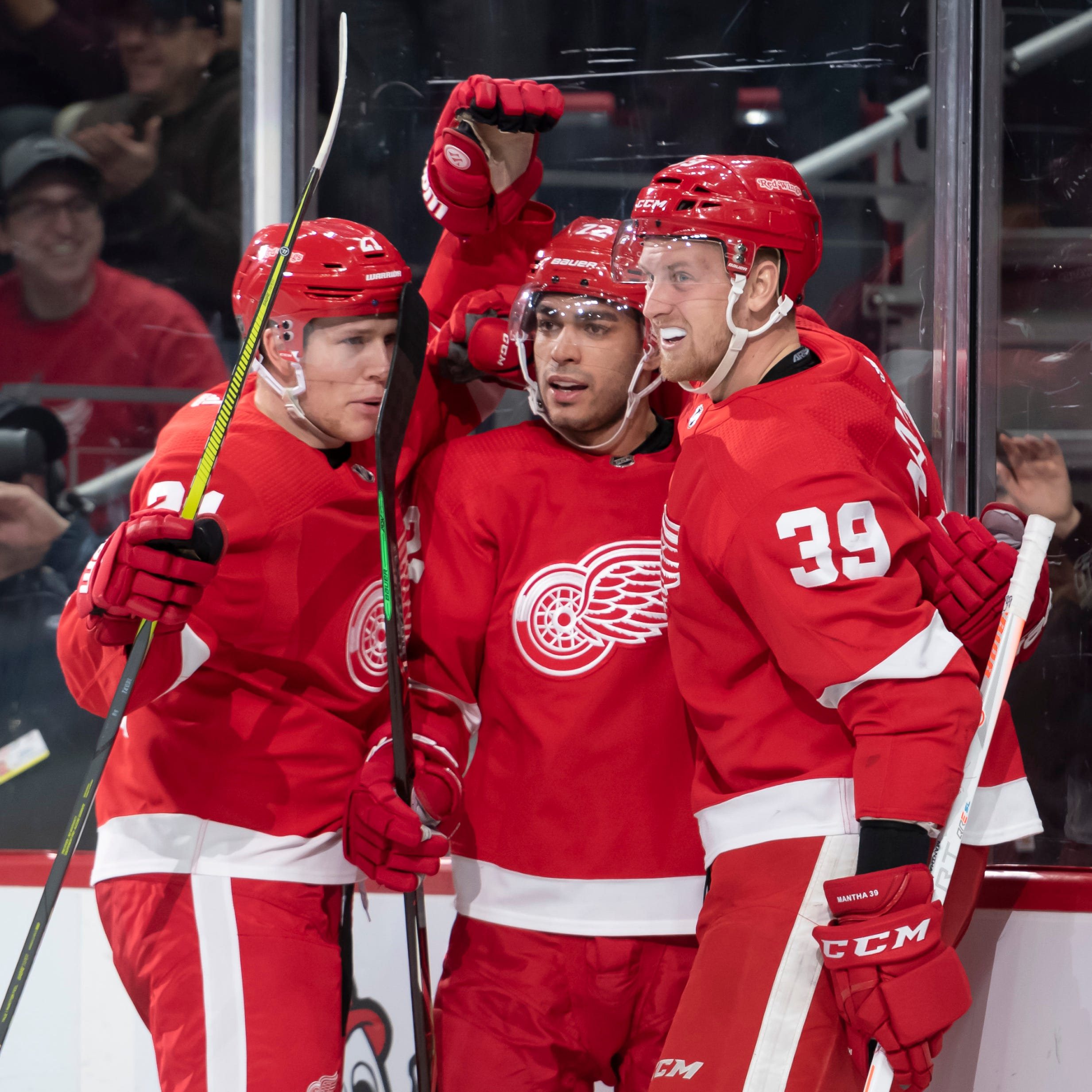 Could Anthony Mantha, Andreas Athanasiou fetch Red Wings a defenseman?
