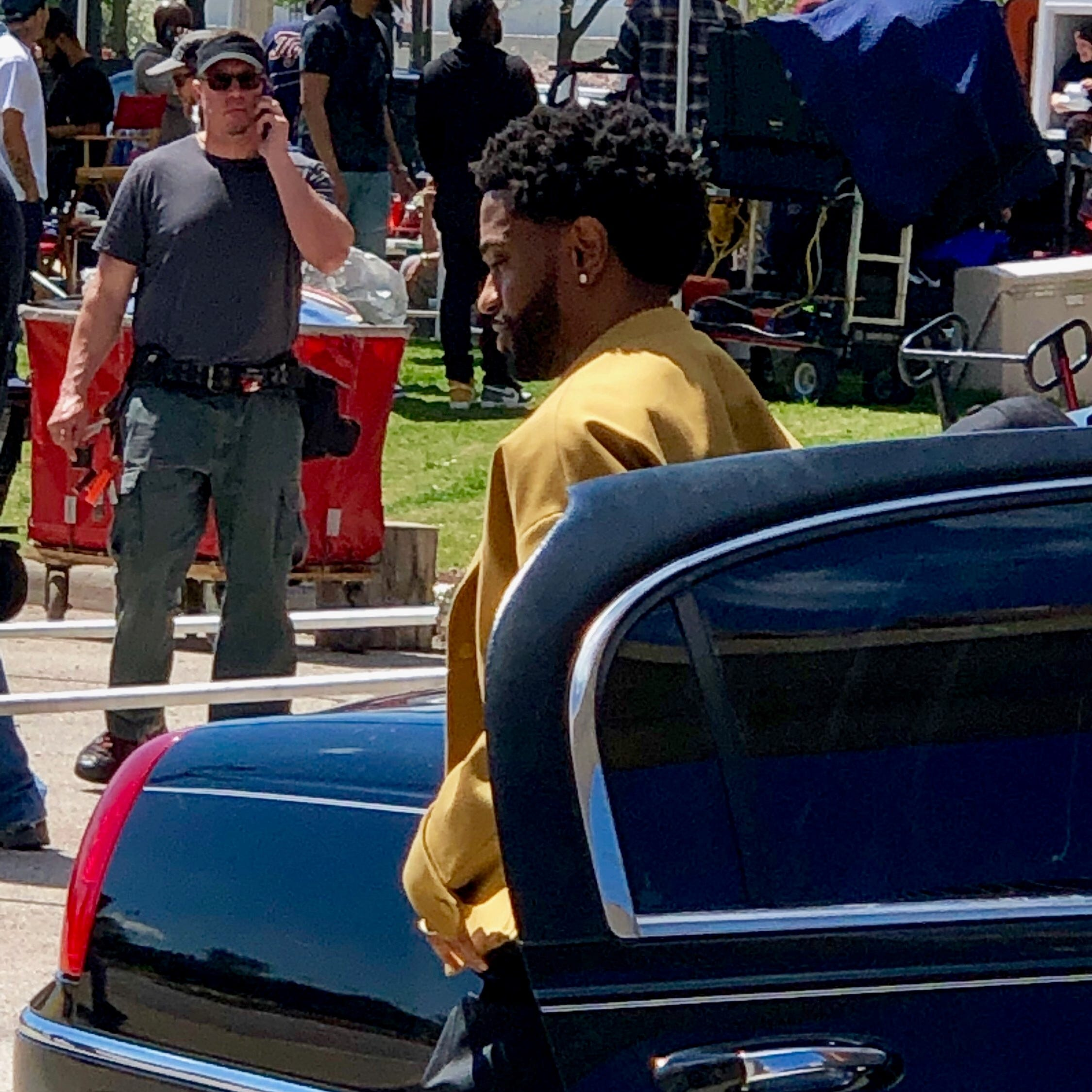 Big Sean shoots music video as Detroiters watch at Spirit Plaza