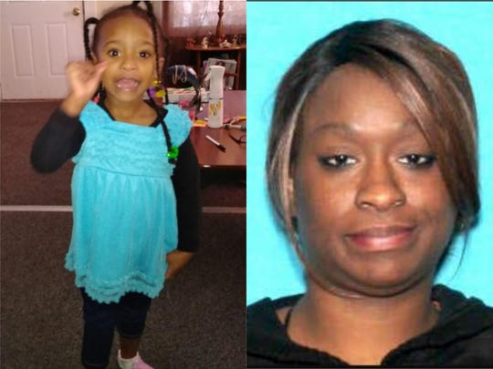 An amber alert had been issued for a 4-year-old girl who was last seen with her mother in west Michigan.