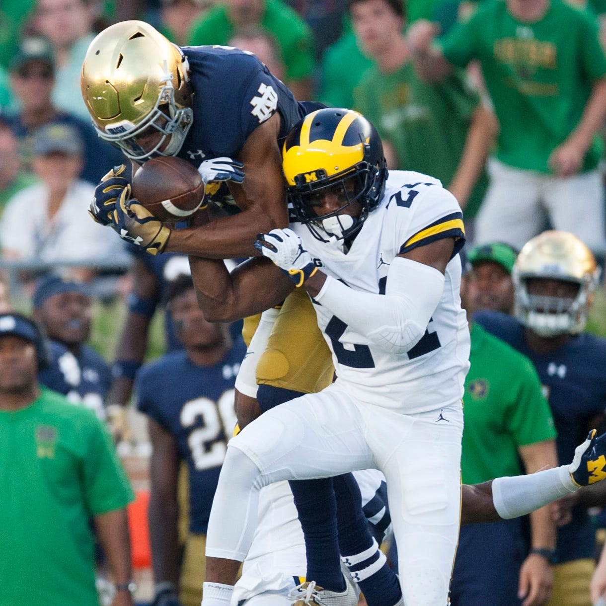 Michigan AD Warde Manuel: There's 'interest' in maintaining Notre Dame series