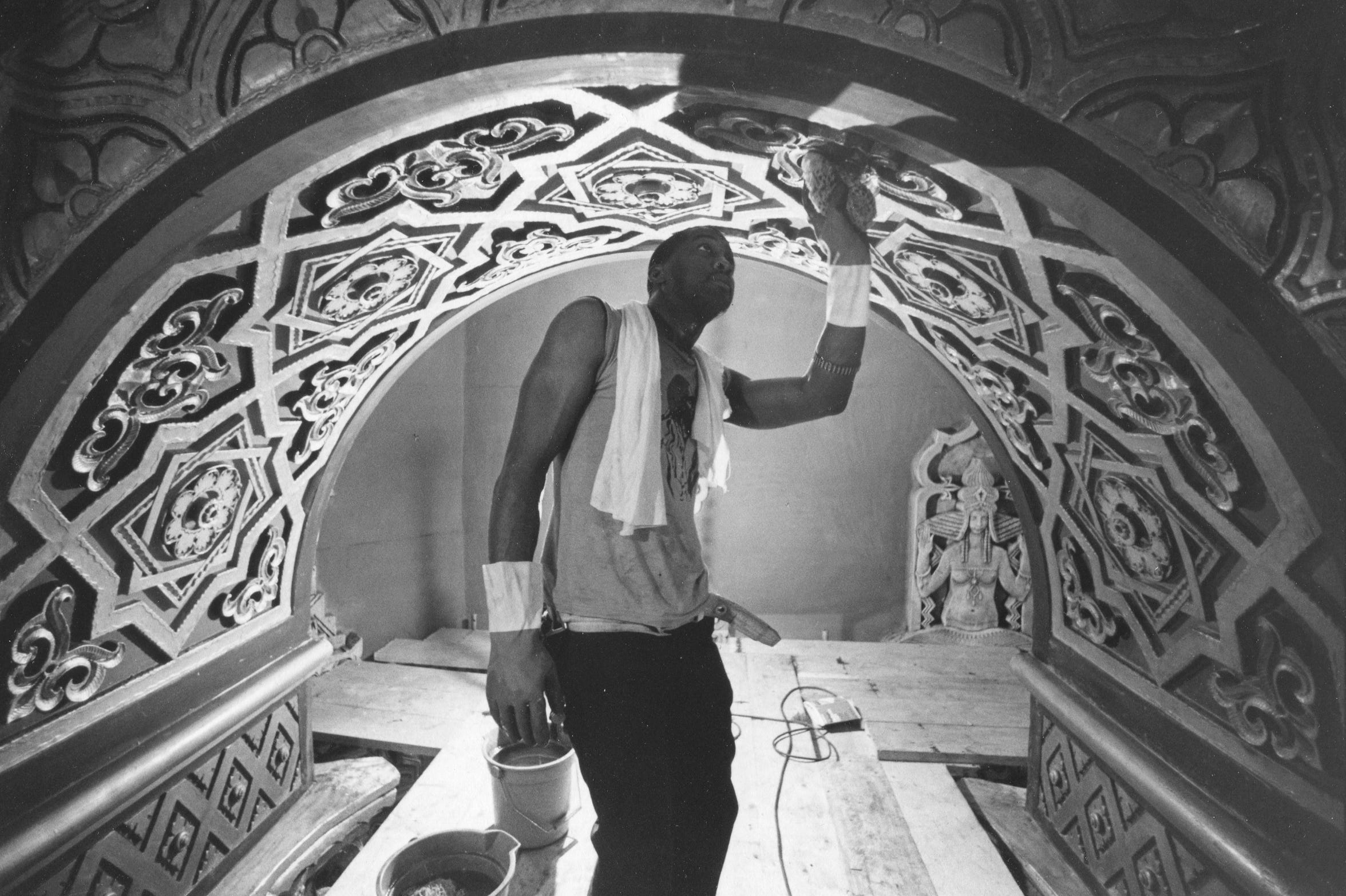 Fox Theatre renovation, Aug. 31, 1989 (Detroit News archive)