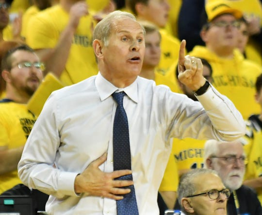John Beilein served as Michigan coach for 12 years.
