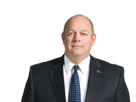 In this undated photo provided by Delta Air Lines, Stephen Dickson poses for a photo. Dickson is President Donald Trump's nominee to run the Federal Aviation Administration.