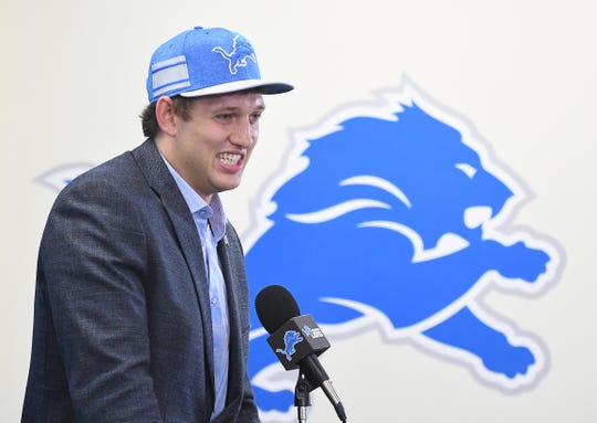 "Lions first-round draft pick, Iowa tight end T.J. Hockenson, is one of 15 rookies who landed with their ""perfect team,"" according to ESPN."