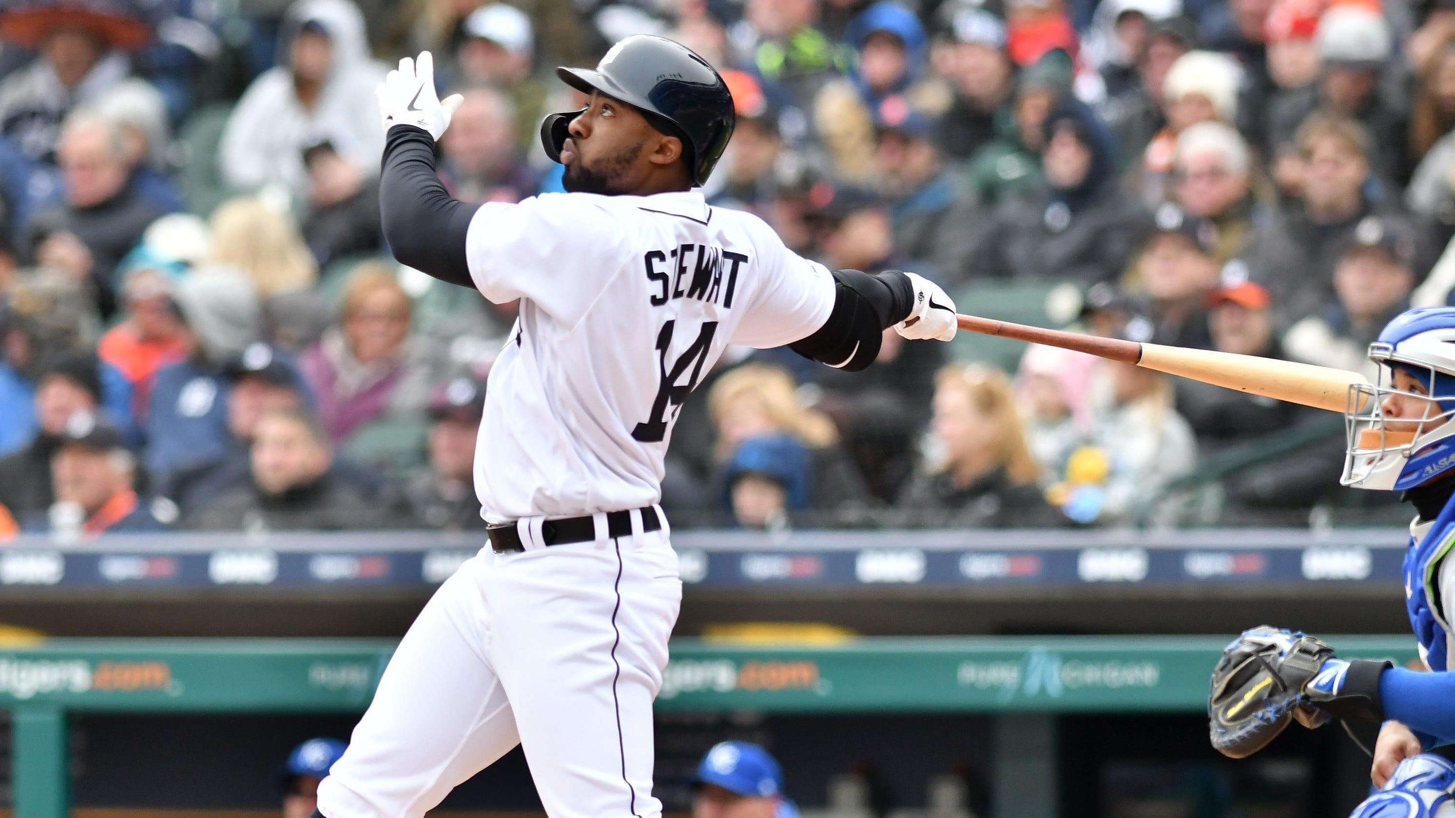 Detroit Tigers' Christin Stewart Sits Against Left-hander