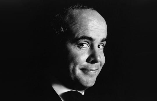 FILE - In this August 1975 file photo comedian Tim Conway poses for a portrait in California. Conway, the stellar second banana to Carol Burnett who won four Emmy Awards on her TV variety show, has died, according to his publicist. He was 85. Conway died Tuesday morning, May 14, 2019, after a long illness in Los Angeles, according to Howard Bragman, who heads LaBrea Media. (AP Photo/File)