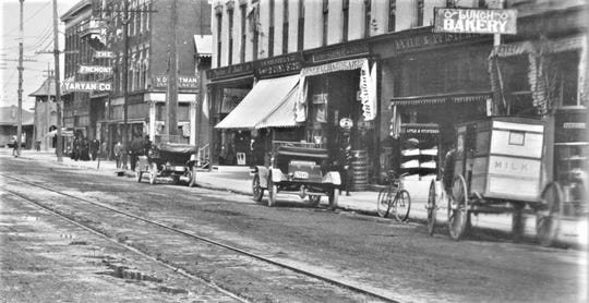 Lytle's Clothing Store was already in business at 107 S. Front St. Fremont, in the early 1900s.