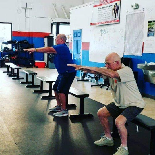 "CrossFit ENG – stands for ""earned not given"" – allows seniors a free class of CrossFit every Tuesday and Thursday at 10:30 a.m."