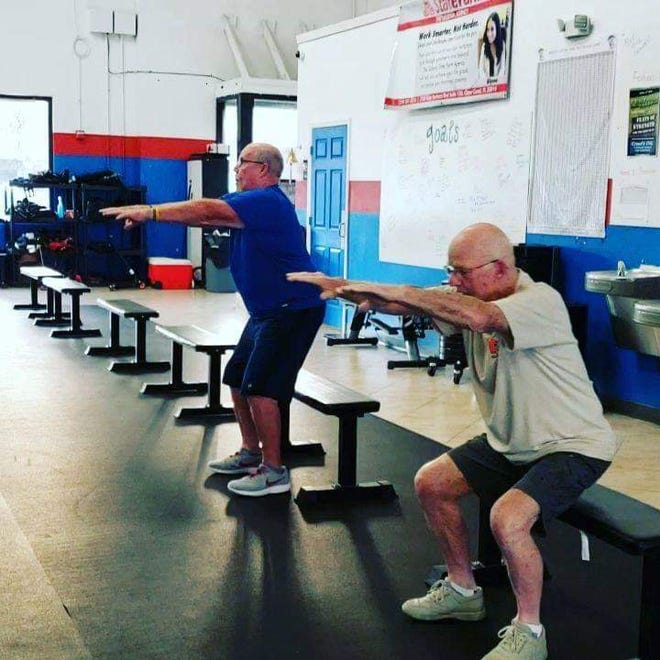 """CrossFit ENG – stands for """"earned not given"""" – allows seniors a free class of CrossFit every Tuesday and Thursday at 10:30 a.m."""